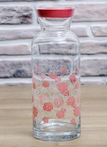 Gül Pembe Şişe/Karaf-Joy Glass